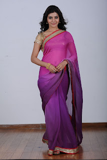Samantha Ruth Prabhu latest Photos in Saree