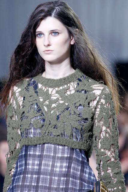 New Grunge : knits and plaids for spring