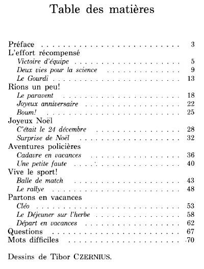texte francais facile avec questions pdf