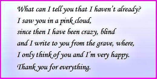 u make me happy poem