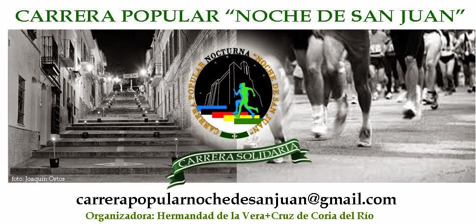 """Carrera Popular  """"Noche de San Juan"""""""