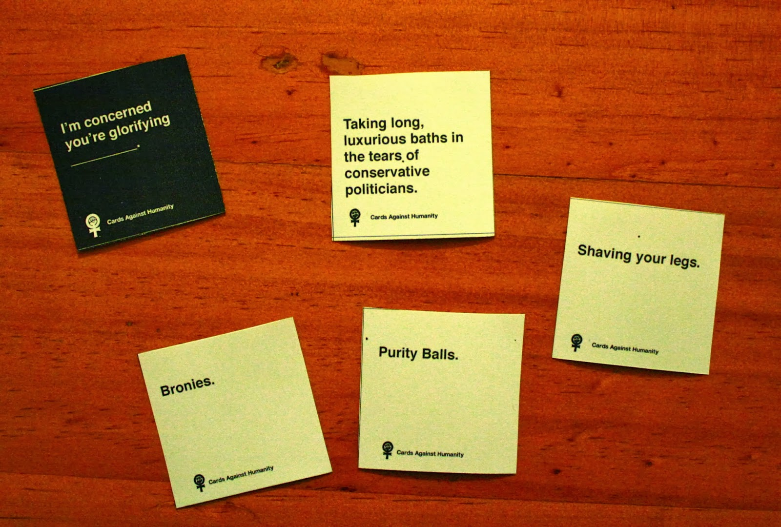 how to play cards against humanity nz