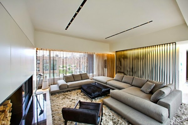 Ultra Modern Apartment In New York City Example Of Minimalist Interior Desig