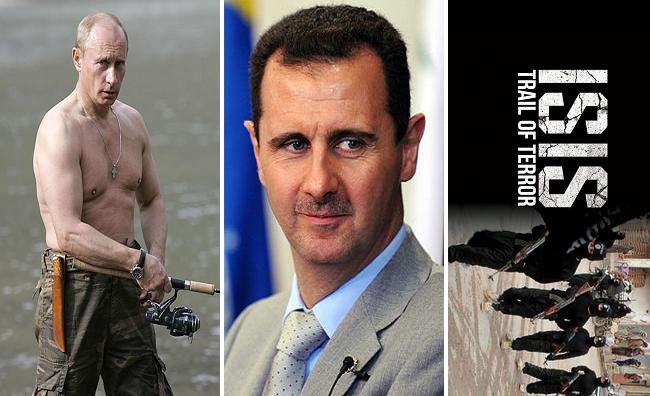 Putin enviou pedido para Assad renunciar como presidente sírio