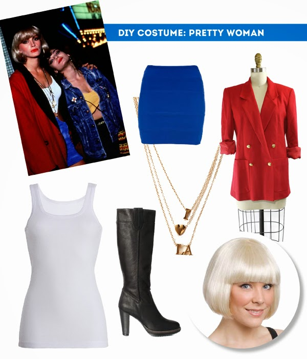 pretty woman julia roberts halloween costume