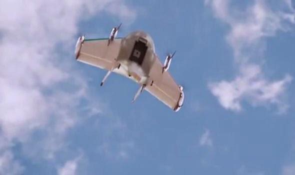 Το Google drone που σύντομα μπορεί να σας παραδίδει τα ψώνια σας