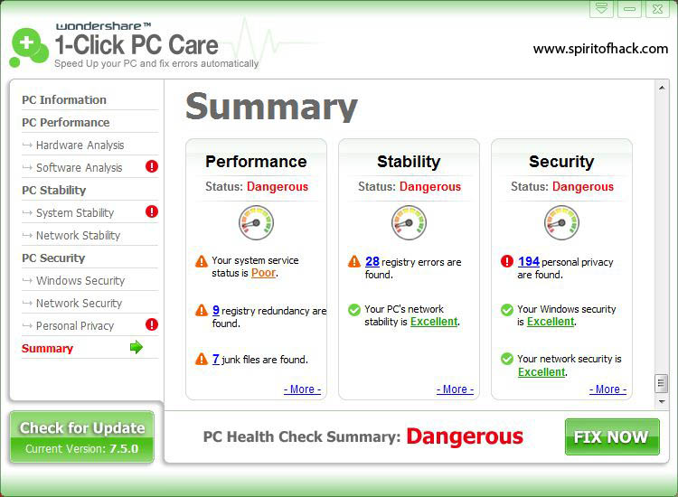 wondershare 1-click pc care serial key