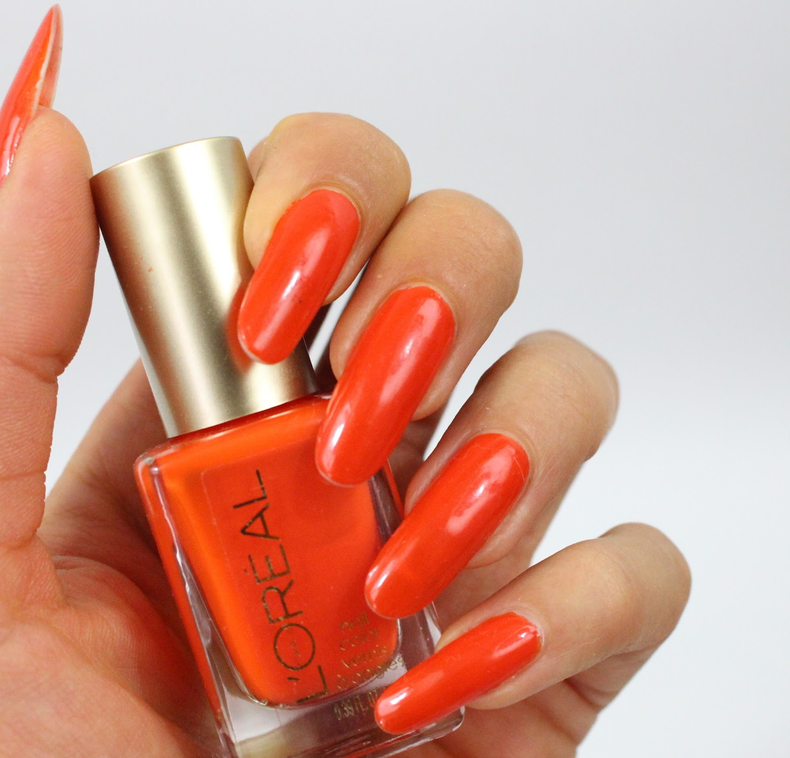 ManiMonday: Essie Gel Setter Topcoat and L\'Oreal L\'Orange - My ...