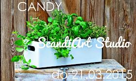 Do 21 marca 2015 candy na blogu ScandiArt Studio