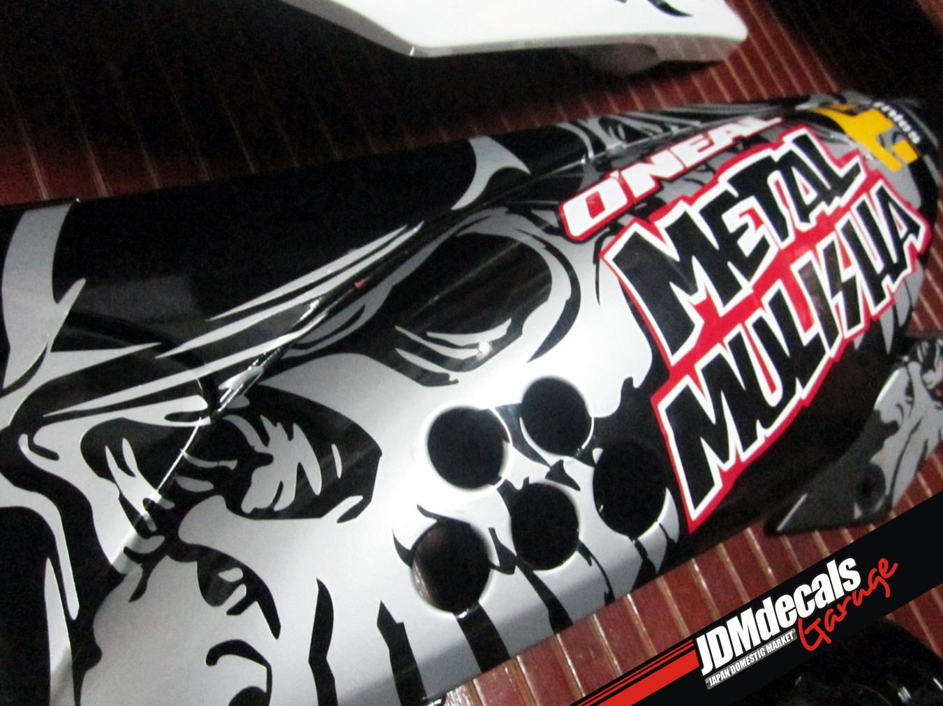 Metal Mulisha Rockstar Motocross Decal Project