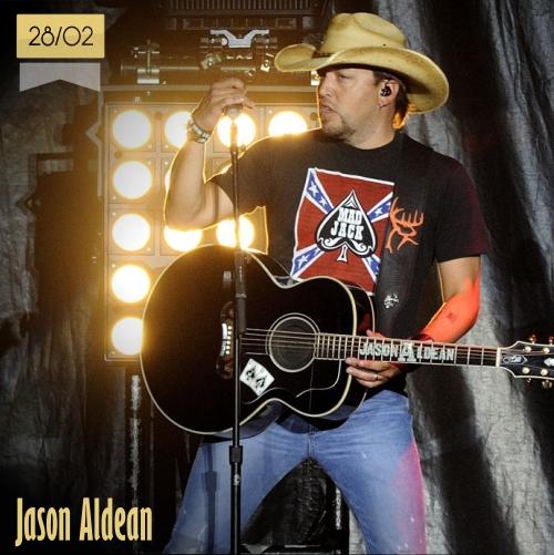 28 de febrero | Jason Aldean - @Jason_Aldean | Info + vídeos