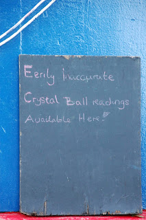 Eerily inaccurate crustal-ball readings - narrowboat, narrow-boat, England, canals, Kennet and Avon.