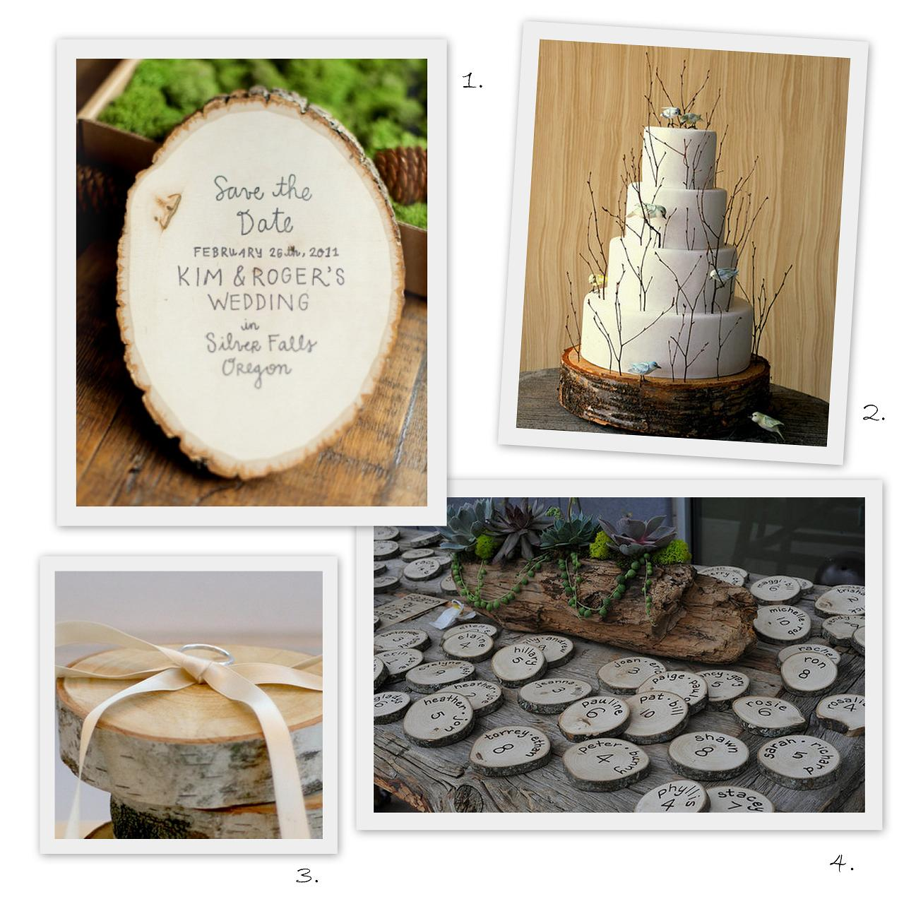 wood+slice+wedding+cake save+the+date ring+ +escort ... a muscle is damaged, dormant adult stem cells called satellite cells are ...
