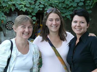 Gabriele, Adriana og Alina