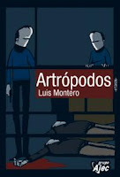 """Portada del libro """"Artrópodos"""", de Luis Montero"""