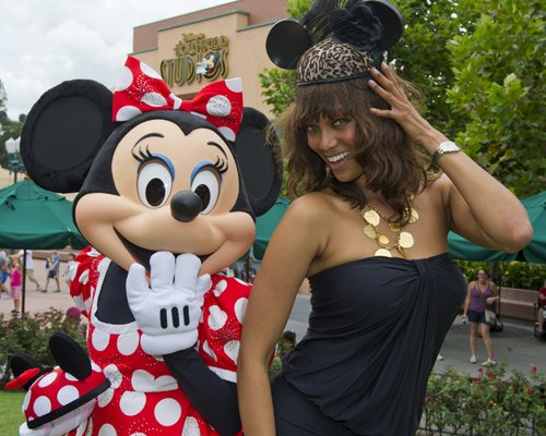 Tyra Banks And Minnie Mouse Have A Moment