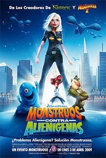 Monstruos contra Alienigenas (2009)