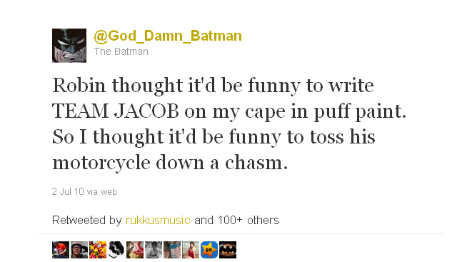 God_Damn_Batman from July 2, 2010