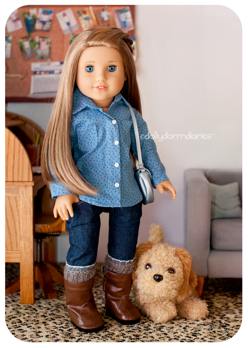 American Girl Doll of the Year, McKenna. Read 18 inch doll diaries at our American Girl Doll House. Visit our 18 inch dolls dollhouse!