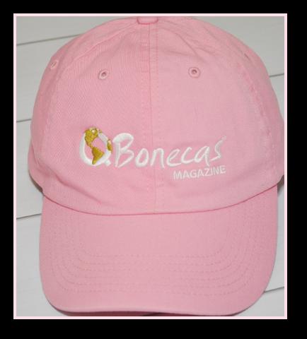Boné QBM rosa bordado