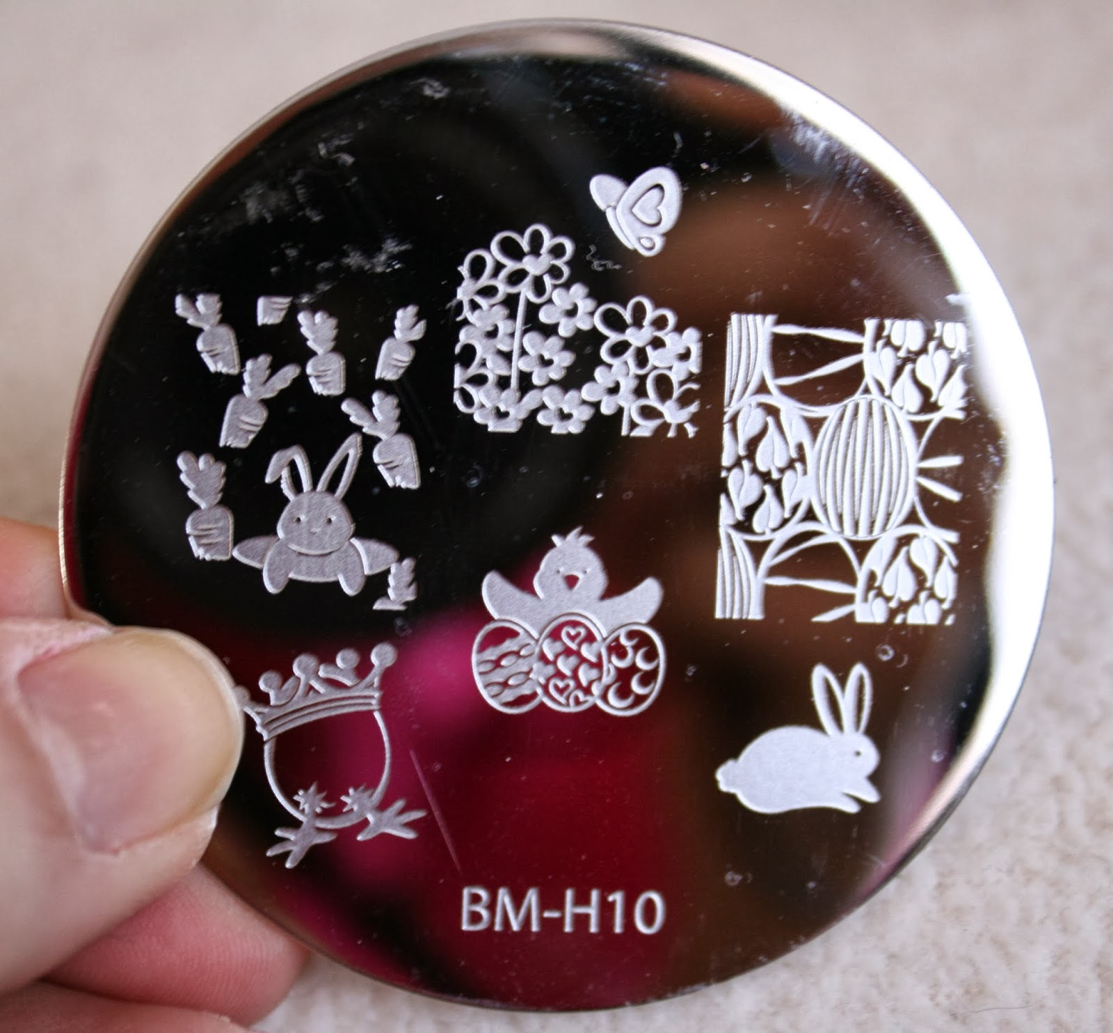 bundle monster nail stamping plates set collection holiday 2013 nails art stamp konad bm-h10