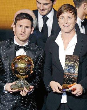 Messi ganador balón de Oro 2012