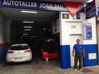 Autotaller Joan Pau otro taller homologado para transformar vehículos  a autogas de la red Gasmocion