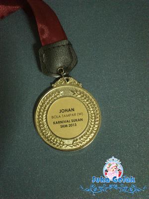 Medal Juara Bola Tampar
