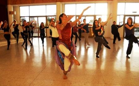 Σεμινάριο ινδικού χορού στη Δημοτική Σχολή Χορού