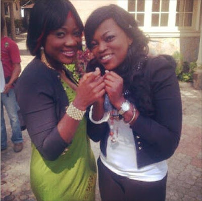funke akindele and mercy johnson