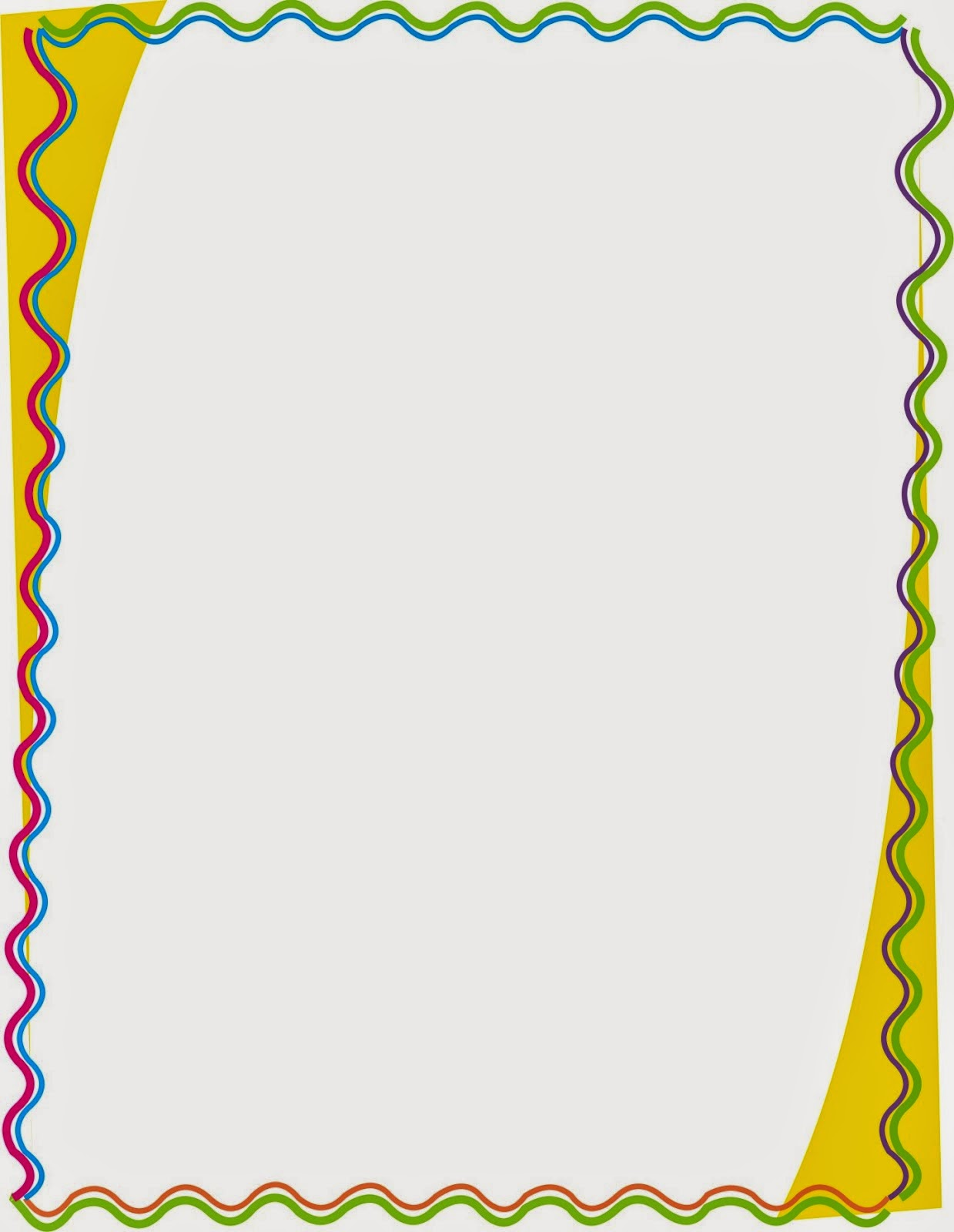 bordes para caratulas de niños