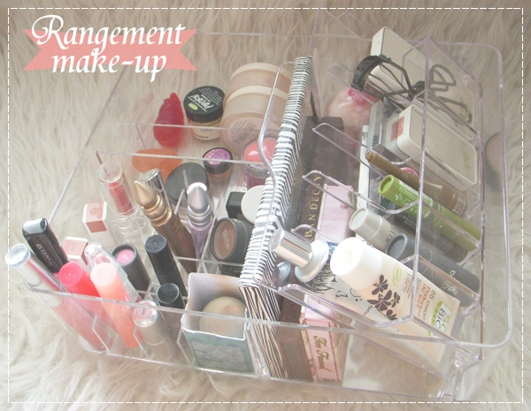 Comment je range mon maquillage beaut maquillage auto - Comment ranger son maquillage ...