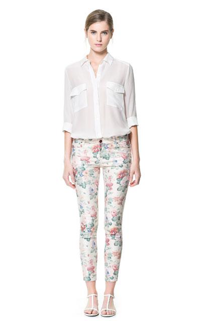 Zaracienta las novedades de zara for Pantalones asiaticos