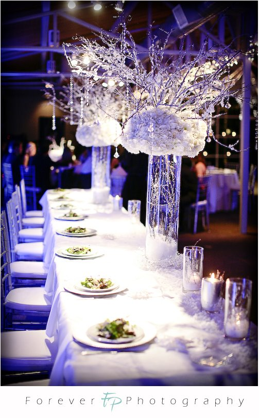 las vegas wedding planner centerpiece idea
