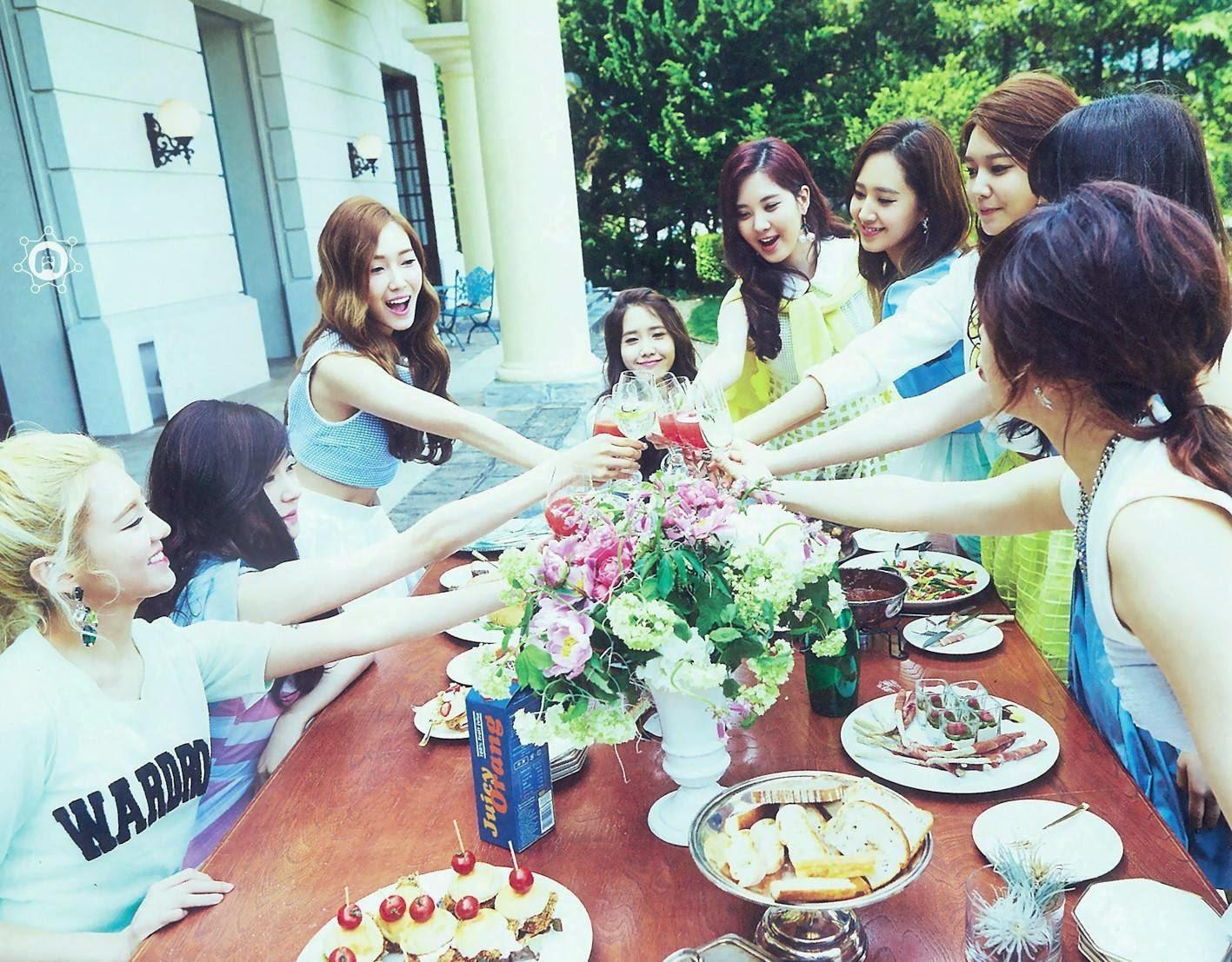SNSD Girls Generation The Best Scan Wallpaper HD 5