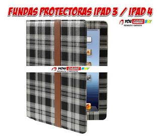 funda protectora ipad 3 / ipad 4
