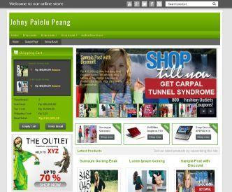 Download Ecommerece Johny Palelu Peang Blogger Template