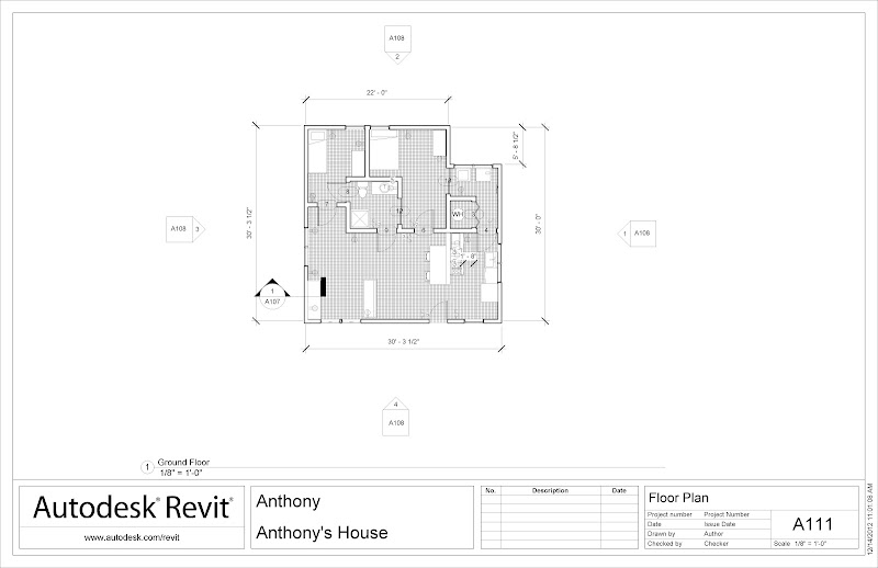 Dimensioned Floor Plan title=