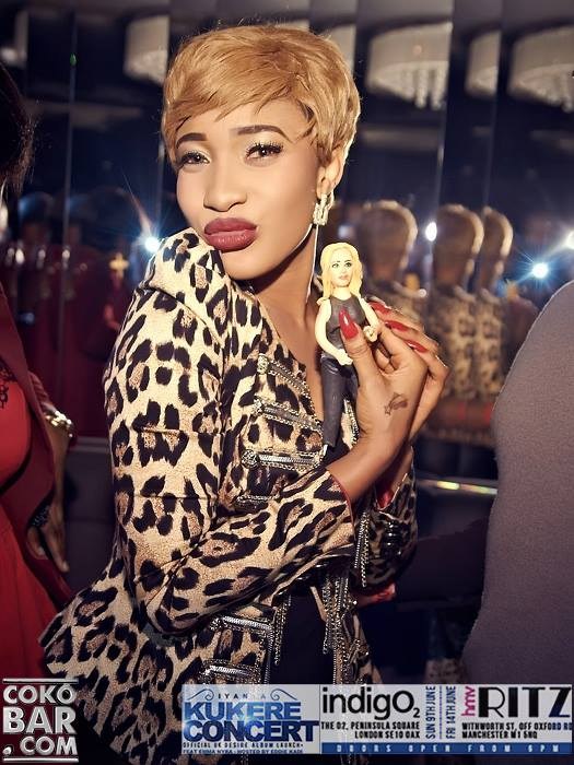 Its Poko Baby: Tonto Dikeh Celebrates Her Birthday at Cokobar Last Night in London