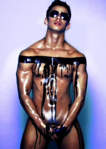 Male Body Painting 2014