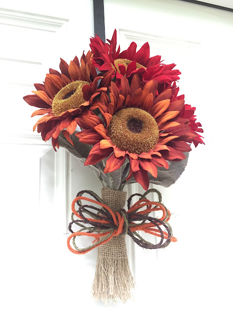 Nosegay wreath for Fall