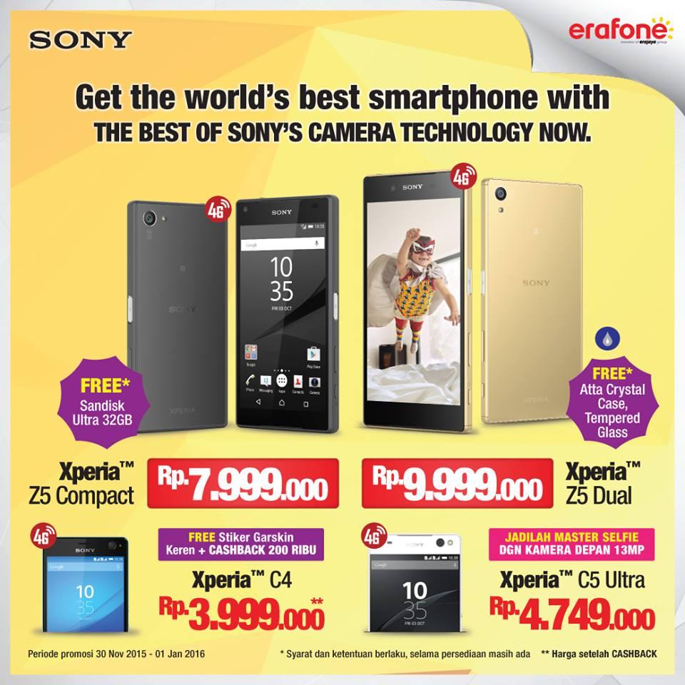 Promo Sony Xperia Di Indonesia