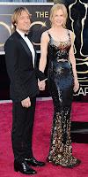 Никол Кидман и Кийт Ърбан на Оскари 2013