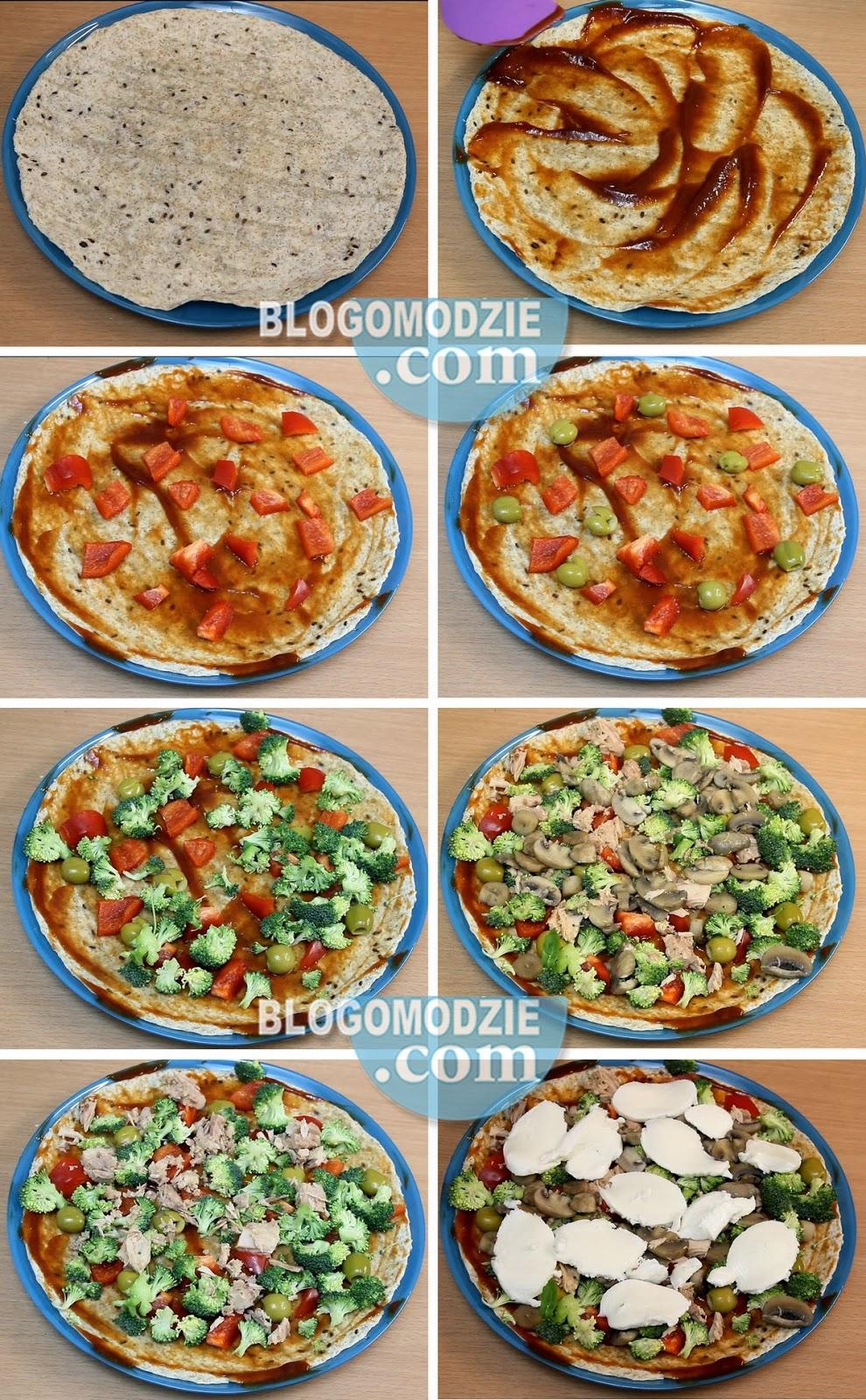 dietetyczna pizza fitness