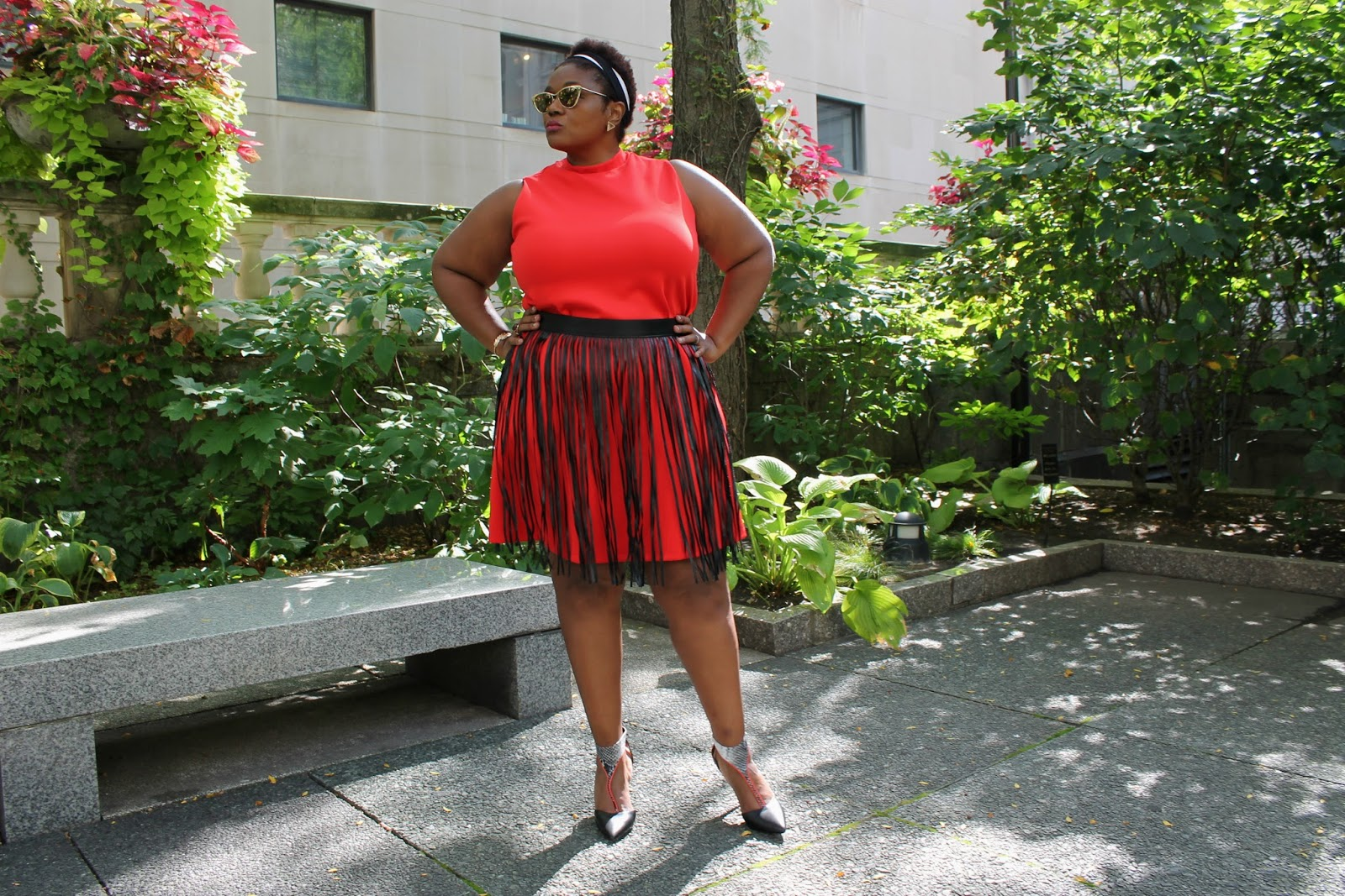 Fashion Challenge} 1 Dress. 2 Girls. 3 Ways to Rock It   High Neck ...