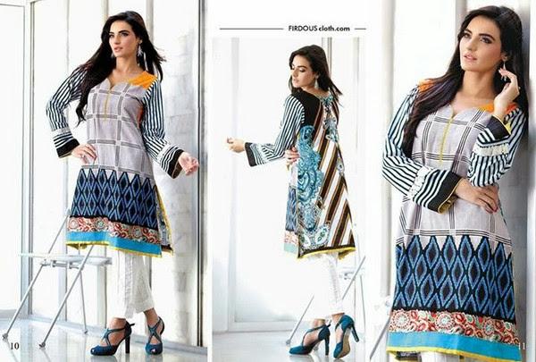 Firdous Khaddar Winter Collection 2013-14 For Women & Girl