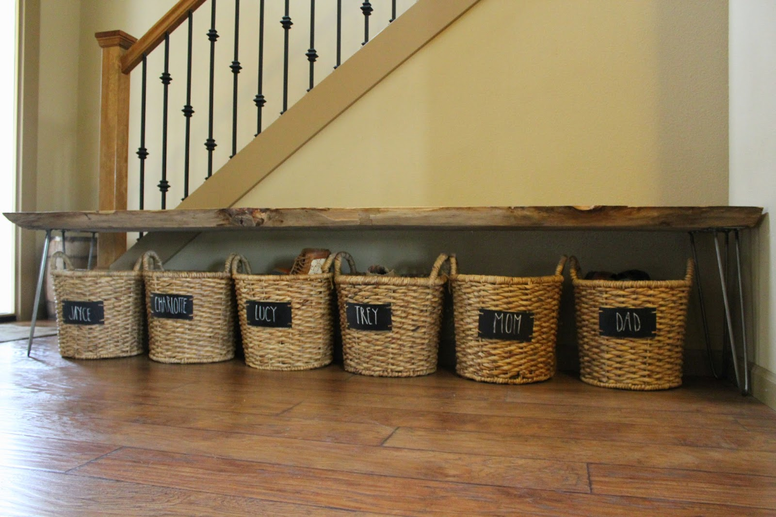 Trey And Lucy A Bench Amp Shoe Storage DIY
