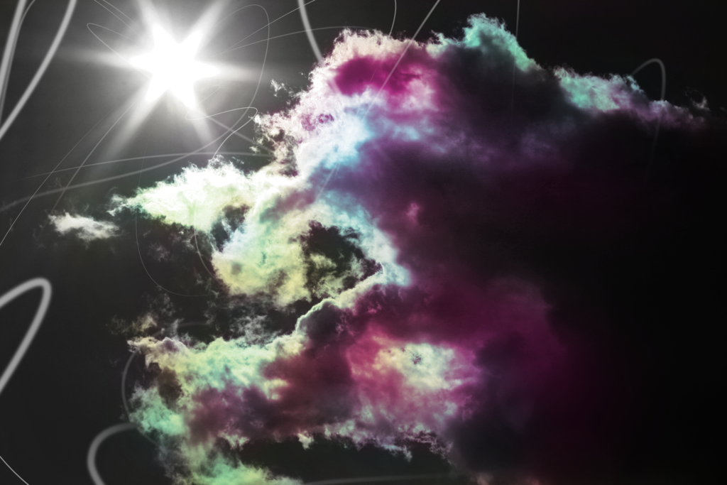 extreme cloud image art