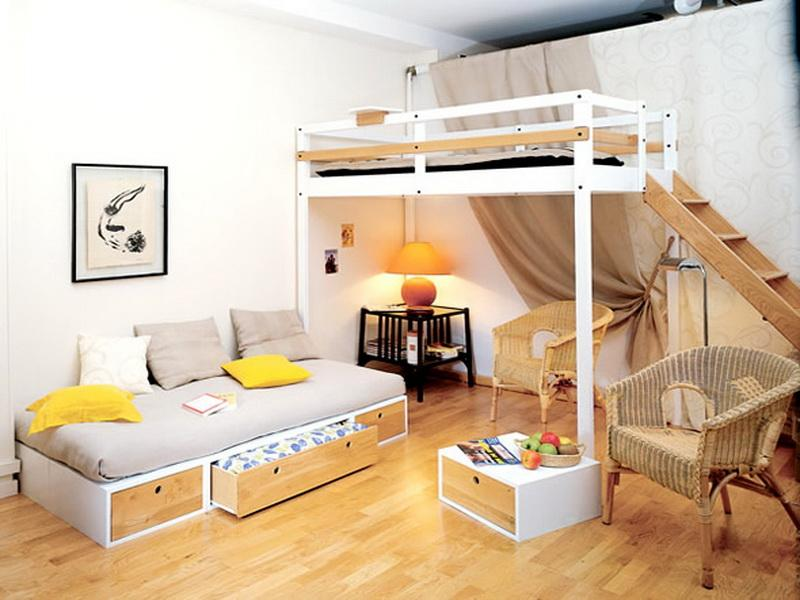 Cute Ideas For Decorating Small Bedrooms Or Studio Type