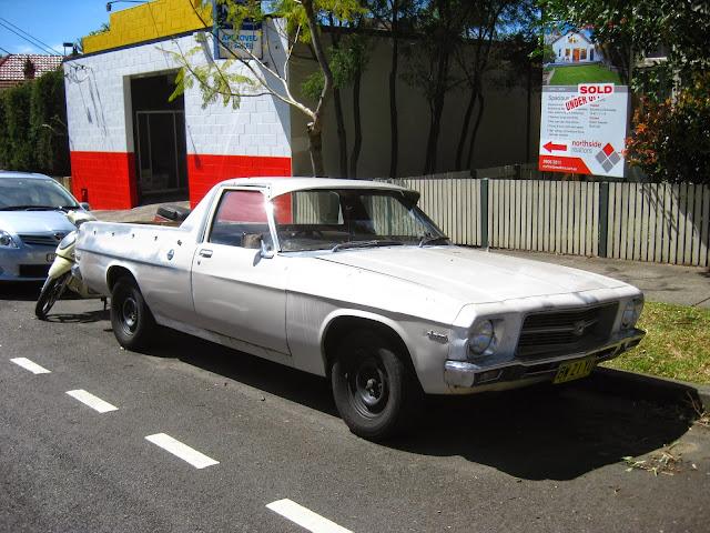 Aussie Old Parked Cars 1972 Holden Hq Belmont Ute